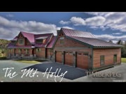 Timberpeg - The Mt. Holly - Timber Frame Home Virtual Tour