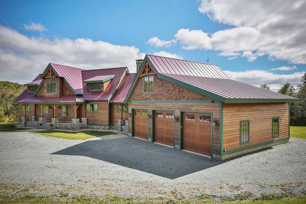 Hail Resistant Siding For The Barn Home Timberpeg Timber